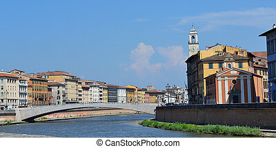 Bridge over river Arno