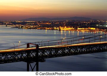 Bridge Over Tagus