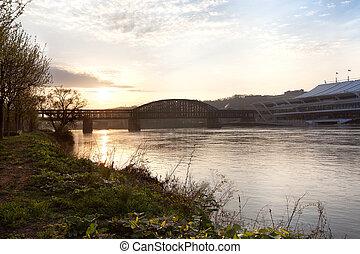 Bridge over the Allegheny River