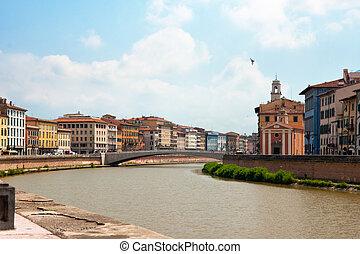 Bridge over the Arno river