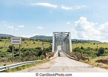Bridge over the Orange River between Sterkspruit and Zastron