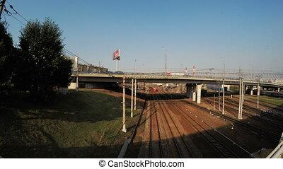 Bridge over the railroad