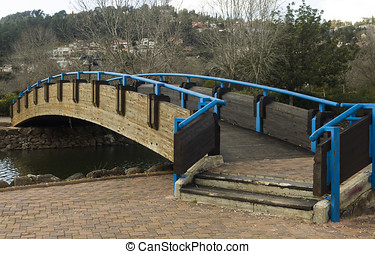 bridge over the river