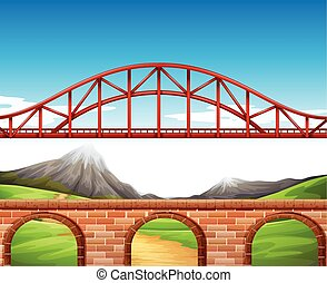 Bridge over the wall