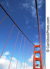 Bridge pier Golden Gate Bridge