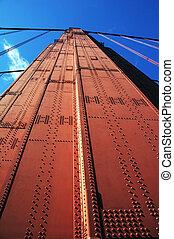 bridge pier of Golden Gate Bridge