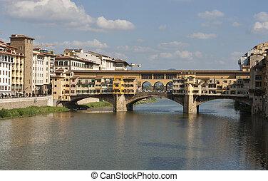 Bridge Ponte Vecchio in Florence