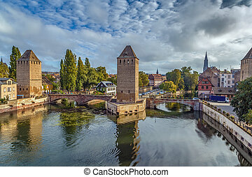 Bridge Ponts Couverts, Strasbourg