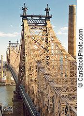 bridge., queensboro