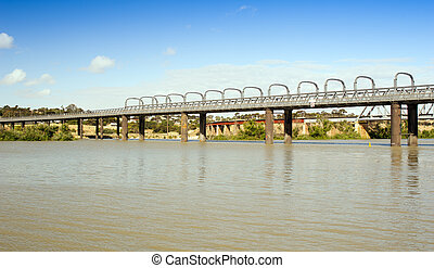 Murray Bridge - Bridge spanning the Murray River in ...