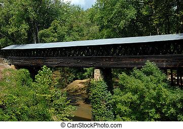 Bridge Spans Crooked Creek
