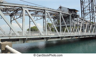 Bridge. - Bridge in downtown Port Colborne, Ontario, Canada....