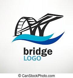 bridge symbol logo template