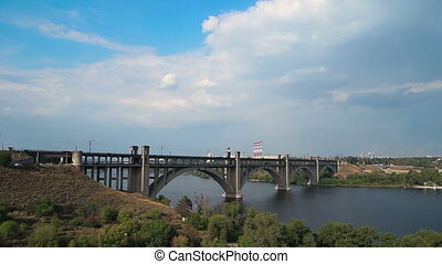 Bridge to Khortytsia Timelapse