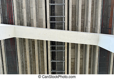 Bridge Underside - Supports and underworks of a highway...