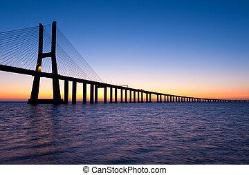 Bridge Vasco da Gama Portugal