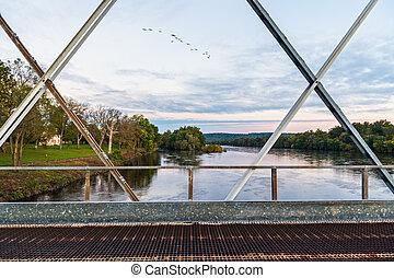 Bridge View at Dawn
