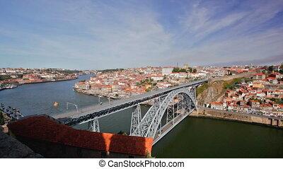 Bridge with two levels over Doro river - Bridge above river...