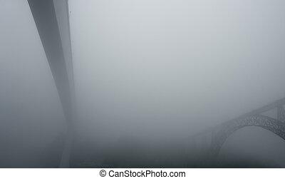Bridges in the mist