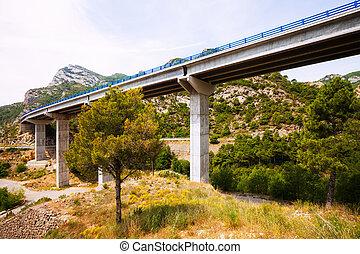 bridges in the mountains.   Catalonia