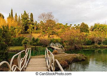 bridges in the park