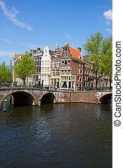 bridges of canal ring, Amsterdam, Netherlands