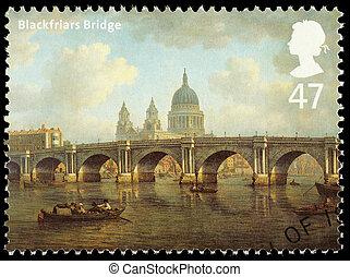Bridges of London Postage Stamp - UNITED KINGDOM - CIRCA...