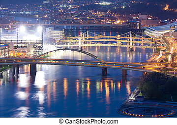 Bridges over the Allegheny River