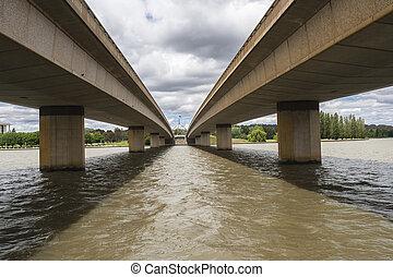 Bridges Two Lake