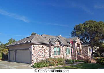 Bridk House in the Suburbs - A beautiful brick house in the...