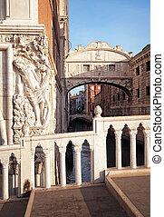 bridzs of sóhaj, velence, -, olaszország