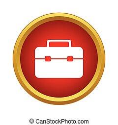 Brief case Icon, simple style - Brief case Icon in simple...