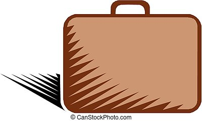 Brief case, vector