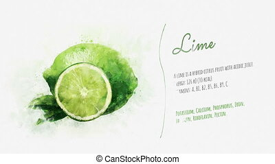 Brief information about Lime - A video card with beautiful...