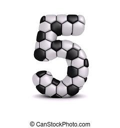 Voetbal, verlichting, brief, textuur. Vrijstaand,... stock ...