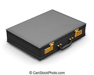 Briefcase - 3D render of a briefcase