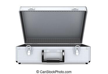 Briefcase Aluminum - Capera Hardcase. Briefcase of Aluminum.