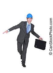 briefcase., arquitecto