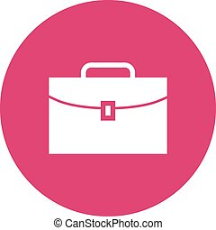 Briefcase, business, case icon vector image.Can also be used...