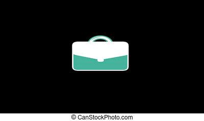 Briefcase Flat Icon - Business and Startup concepts flat...