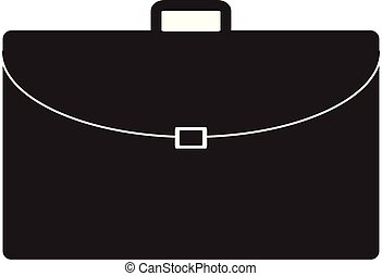 briefcase icon on white background