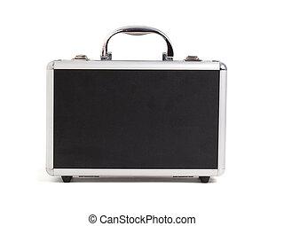 Briefcase on white