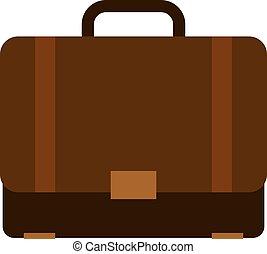 Briefcase or suitcase icon