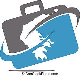 Briefcase Traveling Logo