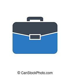 Briefcase Vector Icon.