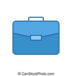 Briefcase Vector Icon.