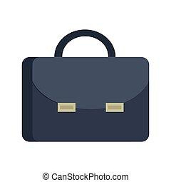 Briefcase Vector Illustration in Flat Design.