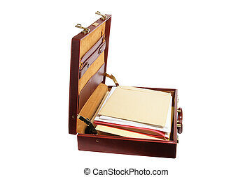 Briefcase with Files