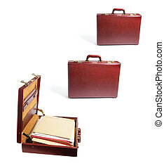 Briefcases with Files