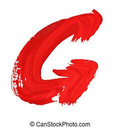 briefe, rotes , handgeschrieben